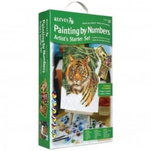Junior Painting by Numbers Artist's Starter Set Green