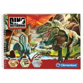 Jurassic World Dino Sketch Book*