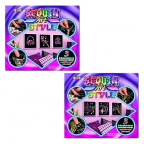 Karaoke and Music Sequin Art Style Double Pack