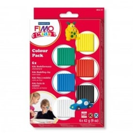Kids Colour Basic Clay Pack*