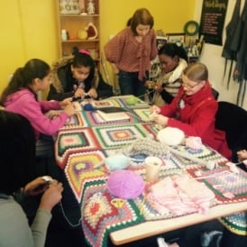Kids Crochet Craft Club| 15.45-17.00 | Fortnightly | DTBC