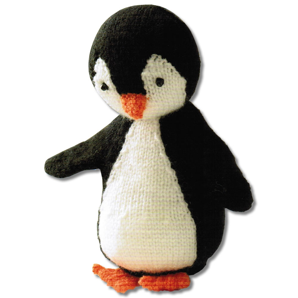 knit your own penguin kit crafty arts from uk. Black Bedroom Furniture Sets. Home Design Ideas