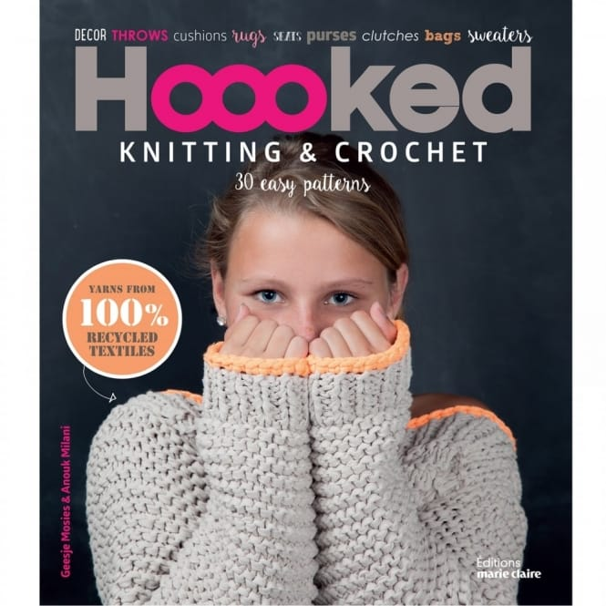 Knitting & Crochet - 30 Easy Patterns Book