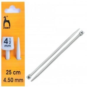 Knitting Needles Size 25cm - 4.50mm