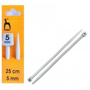 Knitting Needles Size 25cm - 5mm