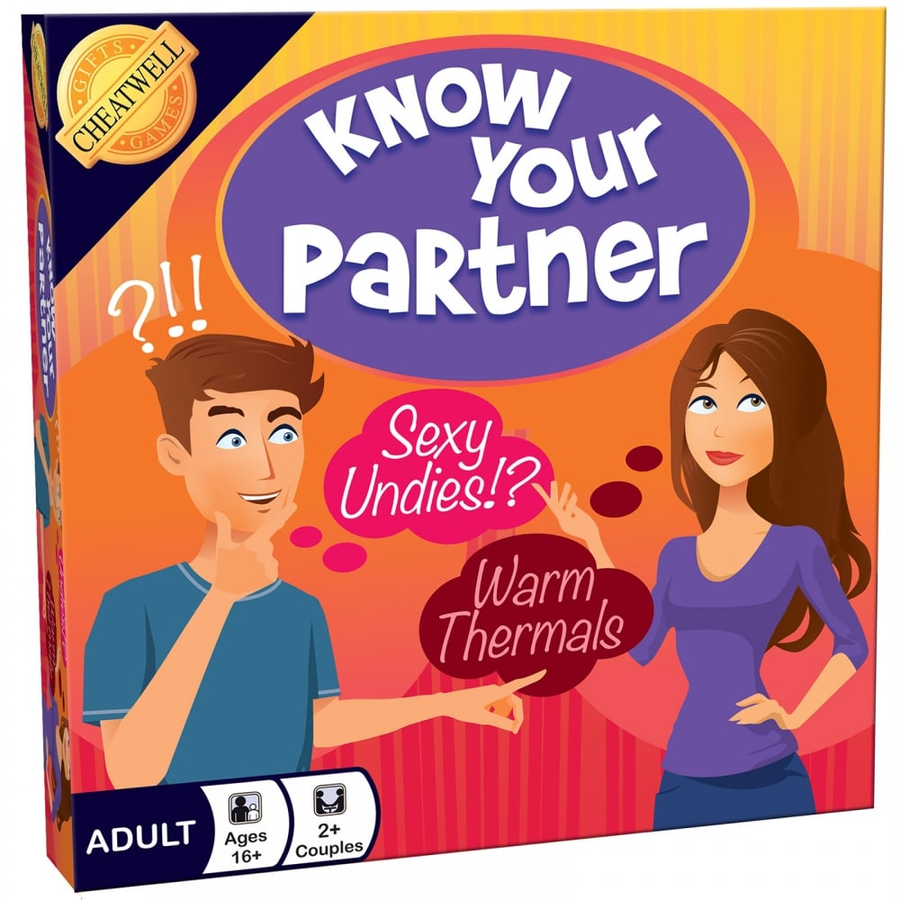Cheatwell Games 01548 Know Your Partner Board Game