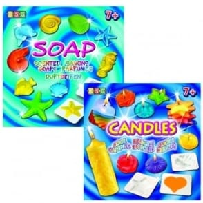 KSG Cool Candles & Scented Soaps Bundle