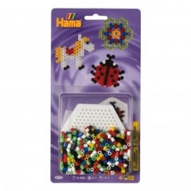Ladybird Bead Pack - Purple