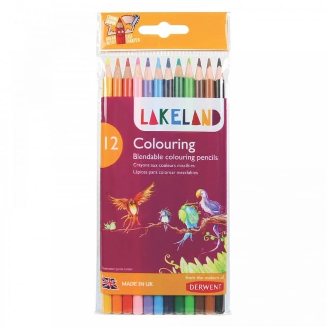 Lakeland Colouring Pencils 12 Pack