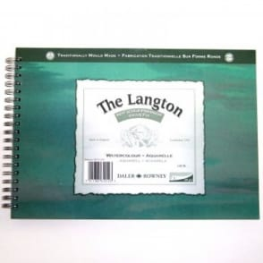 Langton 140lb Spiral Watercolour Pad 14 x 10*