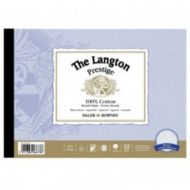 "Langton Prestige 140lb Gummed Watercolour (Rough) Pad 12 x 9""*"