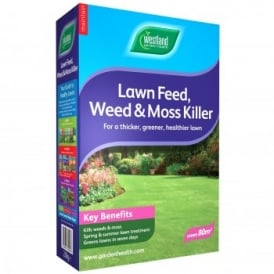 Lawn Feed, Weed & Moss Killer 2.8KG
