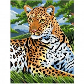 Leopard Medium Paint by Numbers