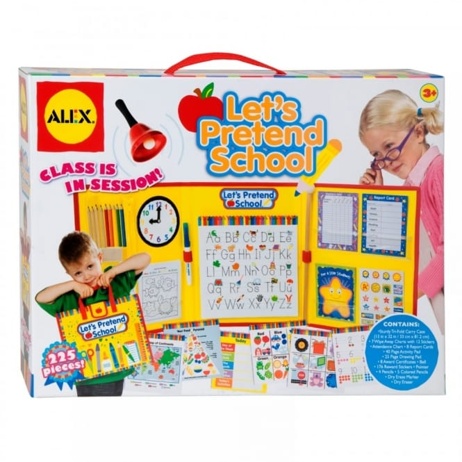 Lets Pretend School Play Set