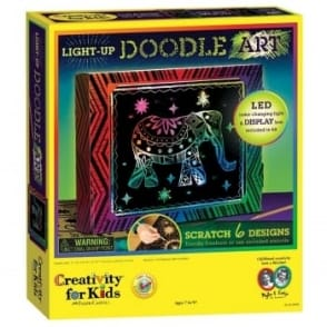 Light Up Art Doodle Kit