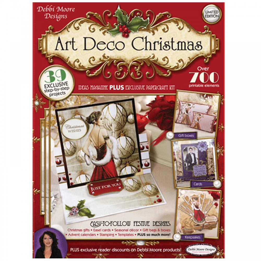 Art Deco Christmas Decorations Uk: Limited Edition Art Deco Christmas Kit*
