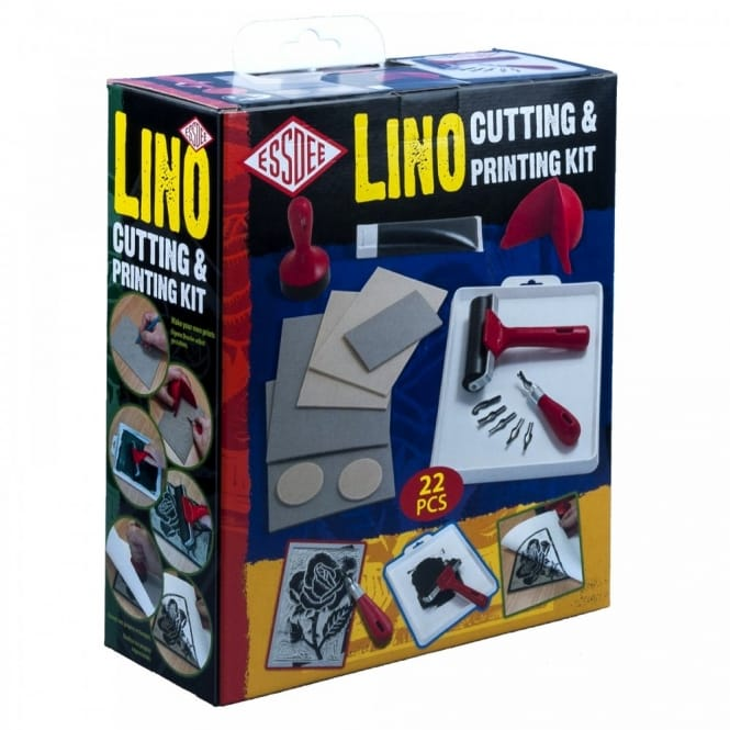 Lino Cutting and Printing Kit - 22 Pieces