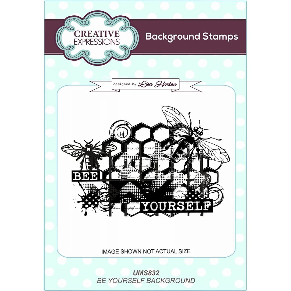 Grey Creative Expressions Toadstool Towers A6 Pre Cut Rubber Stamp