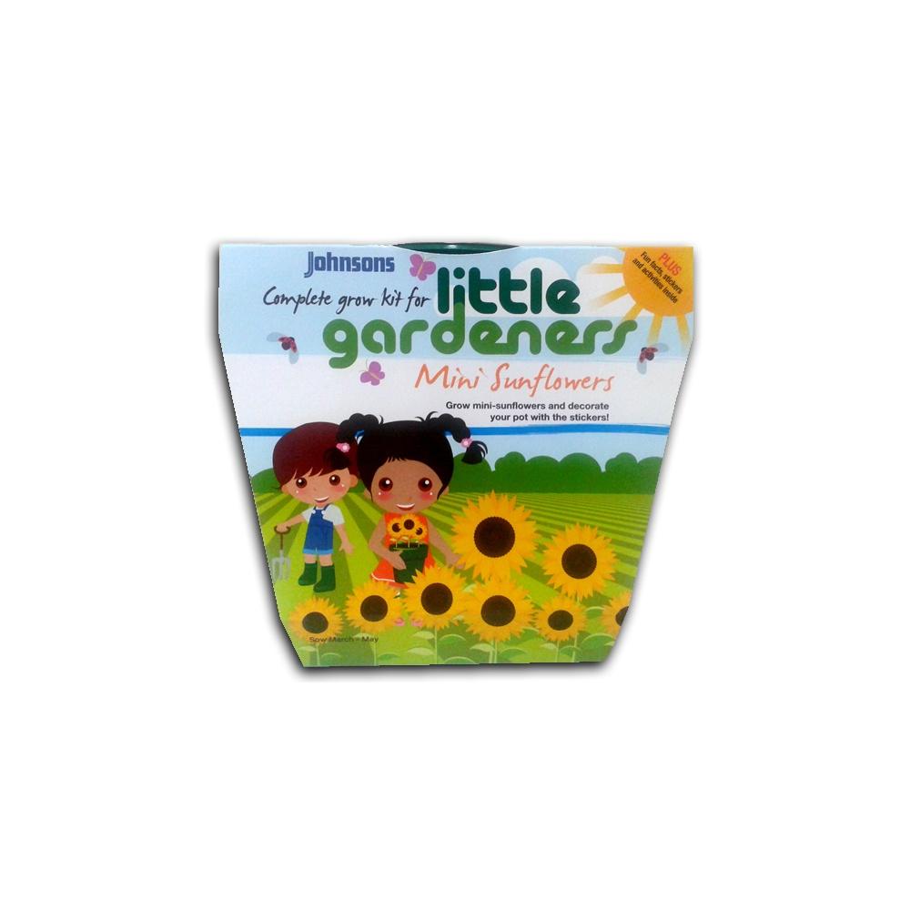 Little gardeners complete grow kit mini sunflowers mr for Gardening kit for toddlers
