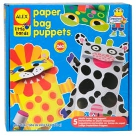 Little Hands Paper Bag Puppets