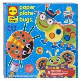 Little Hands Paper Plate Bugs