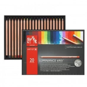 Luminance 6901 Colour Pencils - Box of 20