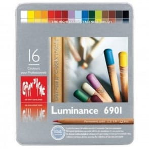 Luminance 6901 Tin 16 Colour Assortment