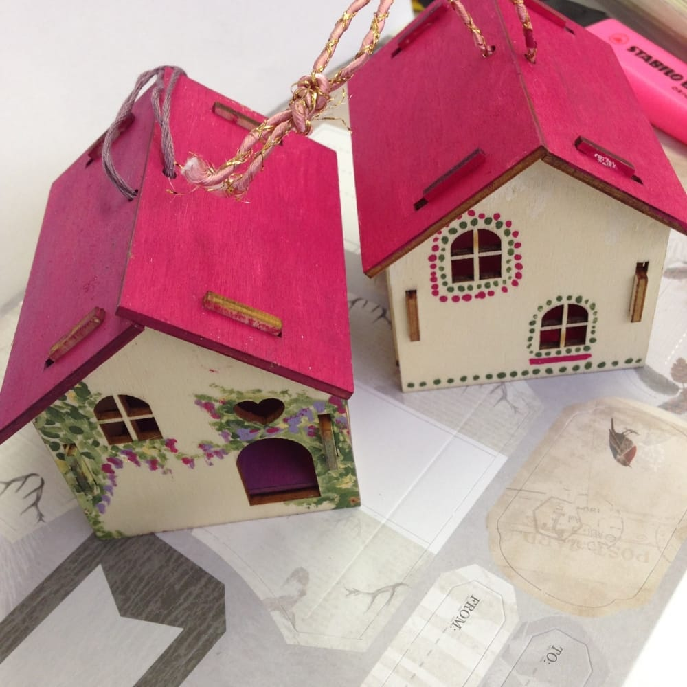 Make Your Own 3d Decoration House Docrafts From
