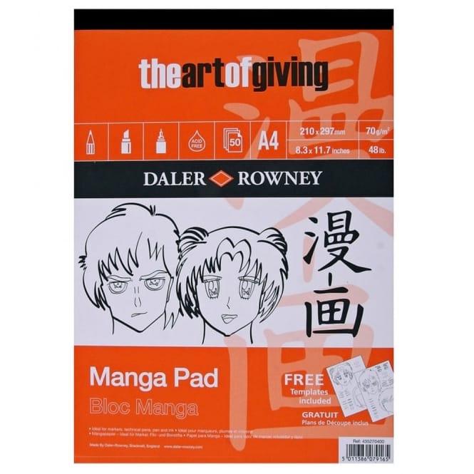 Manga Pad A4 (+ Free Template)