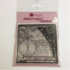 Map & Compass  Clear Magic Stamp