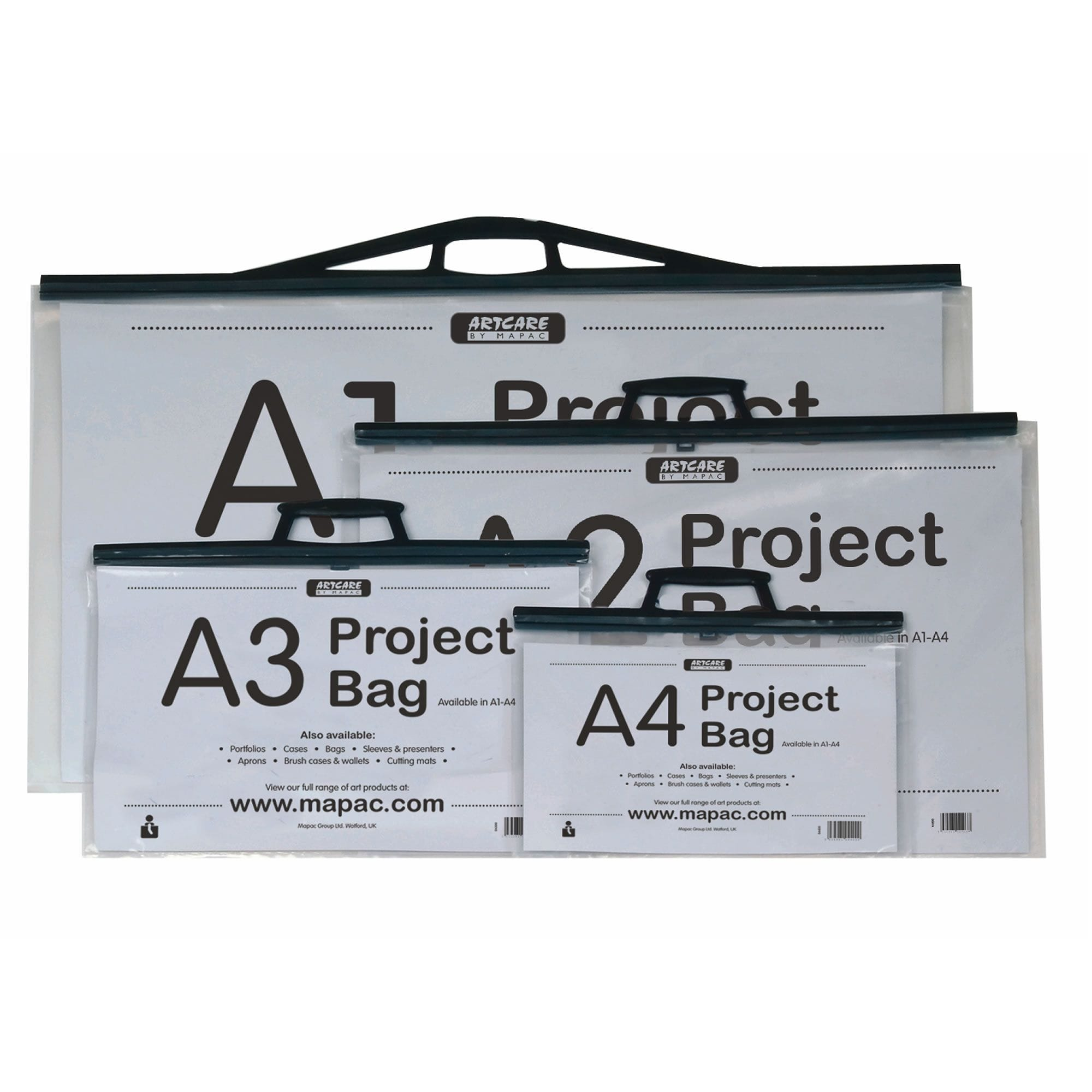 Project Bag Various Sizes