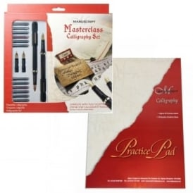 Masterclass Set Calligraphy + Pad Bundle