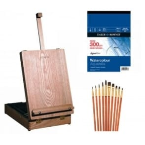 Medway Table Box Easel Watercolour Accessory Set