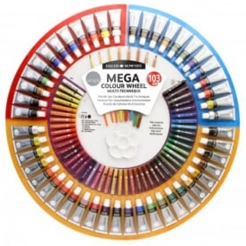 Mega Colour Wheel 103 Pieces