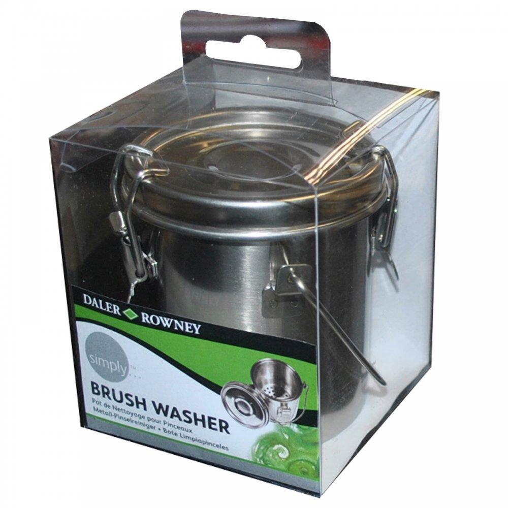 Metal Brush Washer - Daler Rowney from CraftyArts.co.uk UK