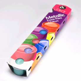 Metalic Poster Paints 7 Colours: 20ml