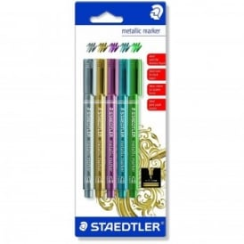 Metallic Markers 5 Pack