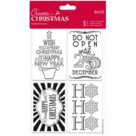 Mini Clear Stamps Gift Tags