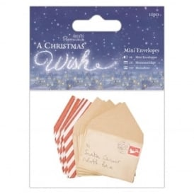 Mini Envelopes - A Christmas Wish 10 pack