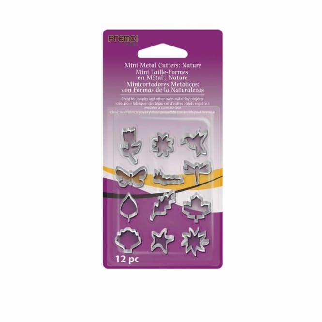 Mini Metal Cutters - Nature Shapes 12 pack
