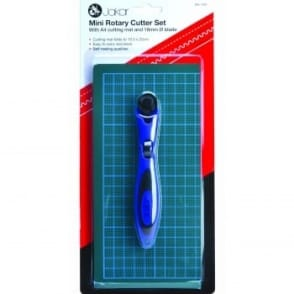 Mini Rotary Cutter & A4 Folding Cutting Mat Set