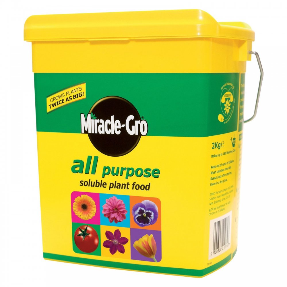 Miracle Gro All Purpose Soluble Plant Food 2kg ...