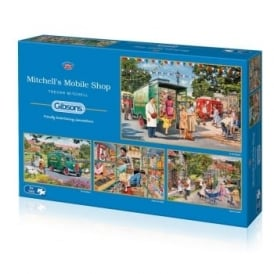 Mitchell's Mobile Shop Jigsaw Puzzle 4 x 500-Piece