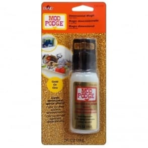 Mod Podge - Dimensional Magic - Glitter Gold