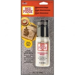Mod Podge - Dimensional Magic - Glitter Silver*