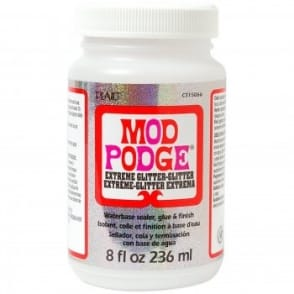 Mod Podge Extreme Glitter Multi Coloured 8oz/236ml