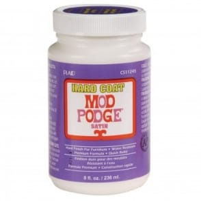 Mod Podge Hard Coat 8oz 236ml