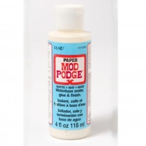 Mod Podge Paper Matte 4oz 118ml