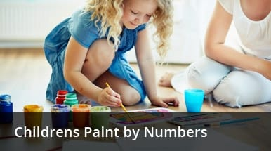 Childrens Paint By Numbers