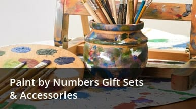 Paint by Numbers Gift Sets & Accessories